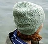Hat Knitting Patterns using The Fibre Co. / Knitted hat patterns for men, women and all the family.