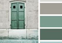Palette Interni: verde, smeraldo, salvia e menta