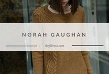 Norah Gaughan Knitting Patterns | The Fibre Co. / Knitting patterns designed by Norah Gaughan for The Fibre Co.