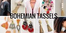 Bohemian Tassels