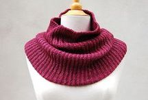 Cowl and Scarf Knitting Patterns using The Fibre Co.