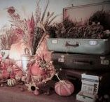 Wedding Decorations Made By Me / #boho #wedding #vintage #retro #madeinhome #handmade #projects #autumn #pumpkin