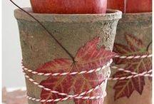 NATÜRLICH DEKORIEREN * NATURAL DECORATION / Deko-Ideen aus natürlichen Materialen - Decoration made of natural materials
