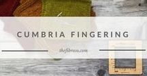 Cumbria Fingering | The Fibre Co. Fingering yarn / Cumbria Fingering is a 60% merino wool, 30% masham wool and 10% mohair yarn.
