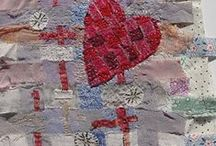 Fabric Art / by Heart in the woods