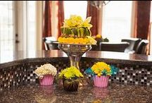 Flowers in Home Decor / Did you know scientific studies prove flowers help elevate your mood? Get ideas for brightening up your home (and mood!) from the experts at aboutflowersblog.com / by AboutFlowers