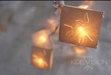 KDEVISION Fairy Lights / hand made laser cut paper fairy lights- to place orders please go to www.facebook/kdevision website coming soon!