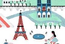 Paris, Ahhh Paris! / I visited Paris many years ago, will never forget the Eiffel Tower.  On March 31, 1889, the Eiffel Tower was dedicated  in a ceremony by Gustave Eiffel, the tower's designer. Eiffel's tower was greeted with skepticism from critics who argued that it would be structurally unsound, and indignation from others who thought it would be an eyesore in the heart of Paris.  Today, it is regarded as an architectural masterpiece and is one of the world's premier tourist attractions. / by Victoria J. Adams