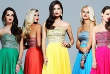 Colorful Gowns / Visit us at NewYorkDress.com or follow our blog at www.NewYorkDress.com/blog / by NewYorkDress