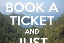 Book a ticket....to my next adventure  / by Heather Martin