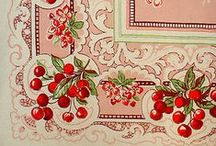 Vintage Tablecloths & Linens / by Victoria J. Adams
