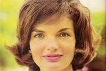 """Jackie Kennedy  & Family / """"Can anyone understand how it is to have lived in the White House and then, suddenly, to be living alone as the President's widow?""""  (Jackie Kennedy)  / by Victoria J. Adams"""