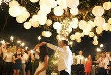 Lanterns & Weddings / Lanterns are a popular option wedding décor and can be used to decorate everything from the ceremony to tables to the dance floor.