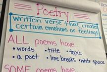 Hippo Hooray for Poetry! / Ideas, lessons, activities, anchor charts for all things reading and writing poetry!
