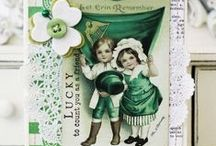 St Patrick's Day / May the Irish hills caress you. May her lakes and rivers bless you. May the luck of the Irish enfold you. May the blessings of Saint Patrick behold you. ~Irish Blessing / by Jeanette Muller-Delia