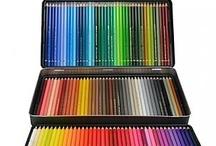 Coloring - supplies / by Leticia Escabi