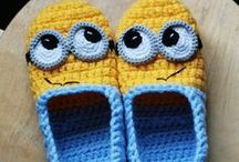 crocheted cuteness! / Crochet projects I'd like to try: blankets, lovies, slippers, socks, mittens, scarves, fun stitches, and more. There are no hats on this page... I have a special board just for hats!