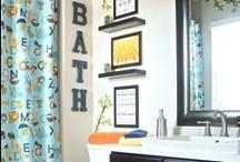 Bathroom Inspiration - Kids & Our !! / by Suri Rodriguez Lopez