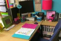 Classroom Organization / Ideas and inspiration for keeping your elementary classroom organized: furniture, supplies, manipulatives, papers, and SO MUCH MORE!