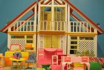 BARBIE-House/Furniture/Cars/Cases / by Trish Herman