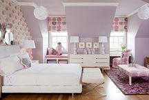 Home - Pink & Purple Bedroom / Inaya  / by LaParisienneVintageChicFurniture Chams Habib