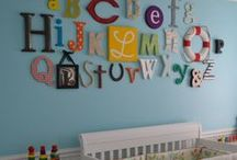 Tiny People Decor / Room and Nursery Ideas / by Angie Mott
