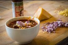 Feel the Chili Love / We think beans belong in chili, but not everyone agrees. Let's agree to disagree!