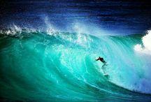 surf et vagues