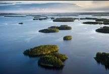 ~ Suomi kartalla - Finland on a map ~ / Kaupungit, kansallispuistot,tunnetut nähtävyydet ja aktiviteetit - Cities, national parks, sightseeings and activities  www.discoveringfinland.com ~ www.laplandsafaris.com