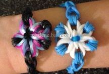 Rainbow Loom Ideas and Projects / This is all my fun loom activities that I want to try or I have made / by Trinity~Paige 🙈🙉