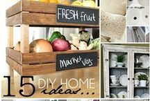 Interior Home Improvement / Ideas and tips for improving your home. #homeimprovement