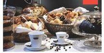 Desayunos y meriendas   Breakfasts and snacks / Tostadas, frutas, bizcohos, tartas caseras y repostería