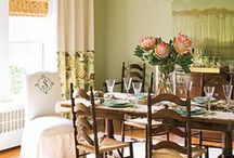 Dining Room Window Treatments / Find inspiring ideas on this board for your very own dining room window decorations. #curtains #windowdecor #homedecor