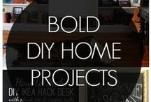 DIY Home Projects / Do it yourself projects that will help improve your home. #diy