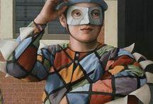 JANE LEWIS details of paintings