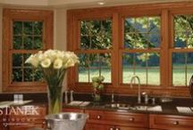 Double-Hung Windows / Stanek double-hung windows feature both upper and lower sashes that open and can tilt in, double-hung windows are easy to clean and offer several options for maximum comfort. Windows can be customized to fit your home's style.