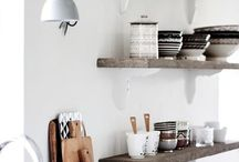 Open shelves / Inspiring open shelves & storage