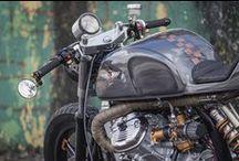 Custom made Honda cx500 gl650 / Selection of the best custom made motorbikes based on Suzuki motorcycle. Cafe racer, scrambler, tracker, brat, brat bob, chopper, street fighter