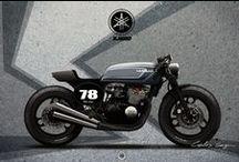 Custom made YAMAHA XJ motorcycle / Selection of the best custom made motorbikes based on Yamaha XJ. Cafe racer, scrambler, tracker, brat, brat bob, chopper, street fighter