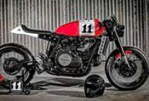Custom made Honda VF motorcycle / Selection of the best custom made motorbikes based on Honda VF motorcycle. Cafe racer, scrambler, tracker, brat, brat bob, chopper, street fighter