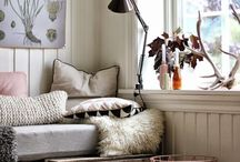 Country Living / Country homes and cottages full of colours, prints and patterns with a boho twist.
