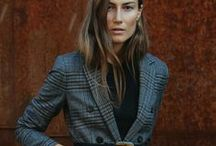 ULI - WLI Styling / Workwear Style Inspiration. Professional women with sophisticated style, whether wearing monochromatic looks, neutral colored outfits, fabulous coats, tailored vests, or just putting a fresh spin on classic style, these women inspire me with great office looks.