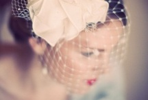 C+B: veils & headpieces / Having a stunning veil and/or headpiece makes such a big difference! Birdcages are fantastic, and so are cathedral veils. Whatever you choose, make sure that is is a stunner, and make sure that its you... Do not underestimate what vintage stores may have on offer!