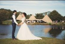 Real tipi weddings / A selection of client photos, showing gorgeous real weddings in Beautiful World Tents' tipis!