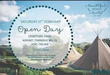Announcements and Special Offers / Follow this board for our latest Open Day dates, announcements and promotions. Never miss an opportunity to see our wonderful tipis in the flesh!