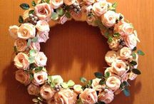 Artlover's Home / Flowers and wreaths collection
