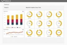 Dashboard Design / Beautiful Dashboards | Visual.is Dashboard design