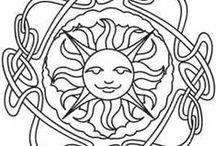 Litha / Zomer equinox. De langste dag en kortste nacht. Begin van de zomer. 21e juni