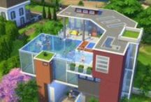 -- Sims 4 Builds -- / A new board that I thought I would introduce because architecture is class, being a fan of building I thought why not aha!!