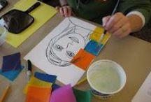 Školka | Výtvarné techniky